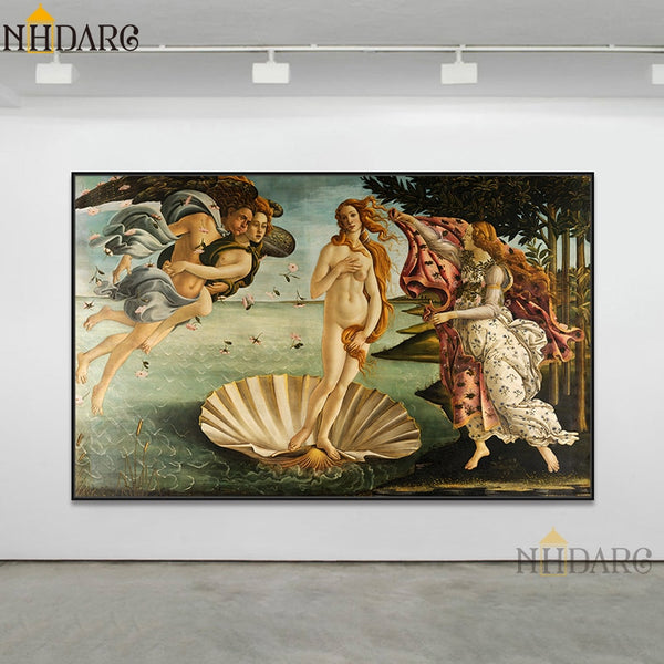 Botticelli Classic HQ Canvas Print The Birth of Venus