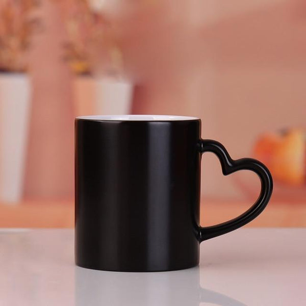 Design Your Own - Personalized Diy Photo Magic Color Changing Mug 01