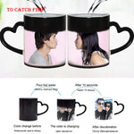 Design Your Own - Personalized Diy Photo Magic Color Changing Mug