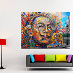 Сальвадор Дали портрети Заманбап HQ Canvas Print