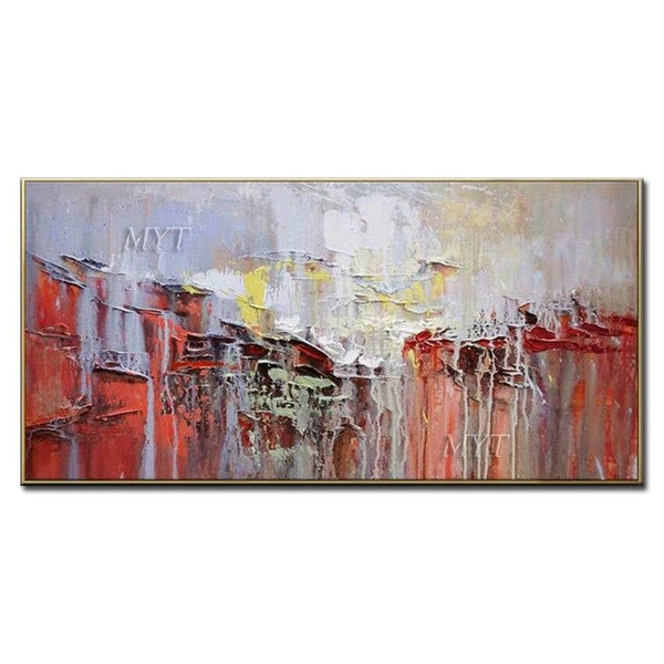 High Quality Landscape Abstract Oil Painting On Canvas Handpainted