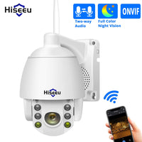 Hiseeu 1080P Wireless PTZ Telecamera IP WIFI 5X Zoom digitale Telecamera di sicurezza esterna per Hiseeu Kit NVR wireless IP Pro APP Remote