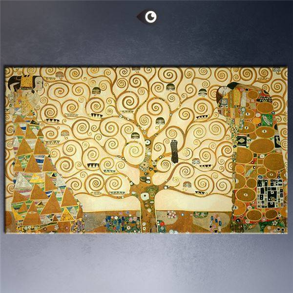 High Quality Giclee Print Huge Gustav Klimt Canvas Wall Art Decor Poster Oil Painting On (Free