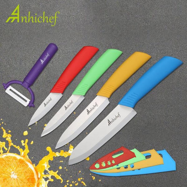 Kitchen Knives Ceramic Cook 3 Paring 4 Utility 5 Slicing 6Chef Knife Cooking Tools Blade Vegetable