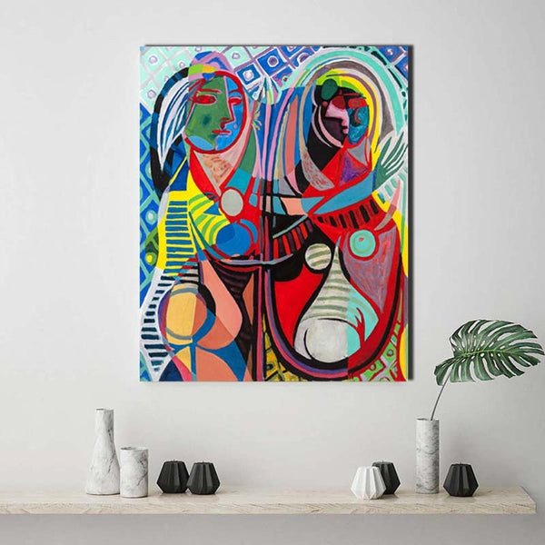 Pablo Picasso Contemporary colors 1 Art HQ Canvas Print Painting frame available