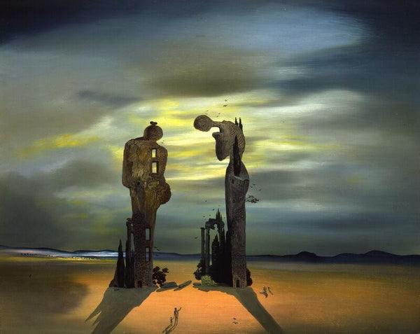 Canvas High Quality Salvador Dali Reality Virtual Reality Giclee Oil Paintings Canvas Art Prints Wall