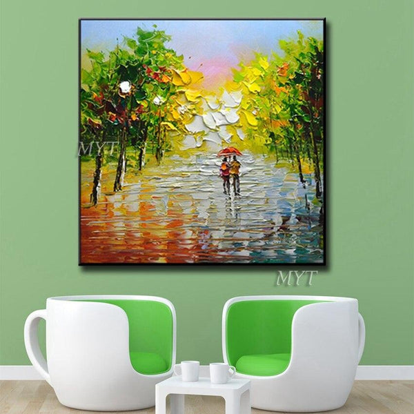 Oil Painting Wall Art Modern On Canvas Handpainted (Hand Painted!) Products On Etsy