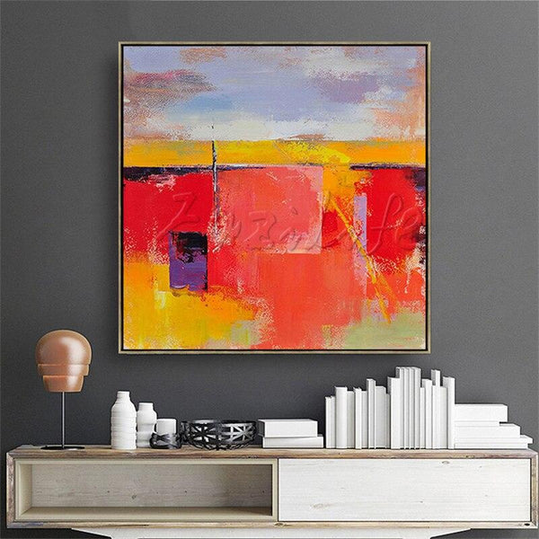 Wall Art Pictures Hand Painted Canvas Oil Paintings Large Modern Abstract Cuadros Home Decor