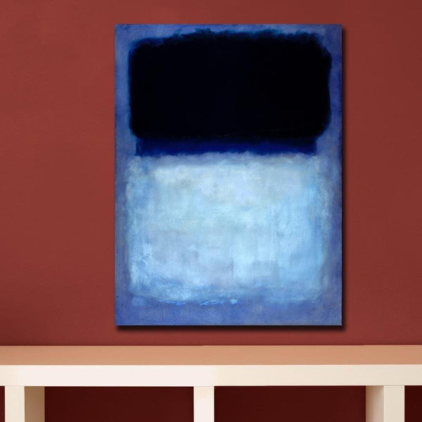 Abstract Mark Rothko Green On Blue 1956 Canvas Art Home Decor Modern Oil Painting