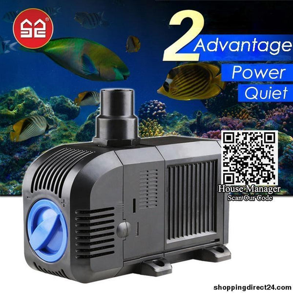 Adjustable Changeable Water Pump For Aquarium Fish Tank Coral Reef Marine Pump Sponges Submersible