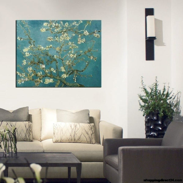 Almond Blossoms Van Gogh Oil Painting Modern Art Reproduction Museum Quality Handmade By Skilled