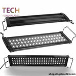 Aquarium Couvercle Led Poisson Réservoir Aquatique Plantes Lampe Usa Poutres Led400 80Cm 78Led 100-240V Marine