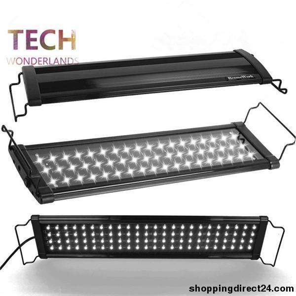 Aquarium Lid Led Light Fish Tank Aquatic Plants Lamp Usa Beamswork Led400 80Cm 78Led 100-240V Marine