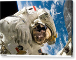 Astronaut Space Suit Space Universe Galaxy -  Stretched Canvas Print Ready to Hang