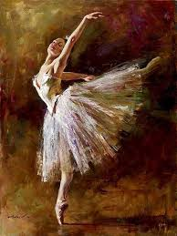 Famous Andrew big oil painting ballerina reproductions handpainted canvas art 140 x 110 CM (hand painted)