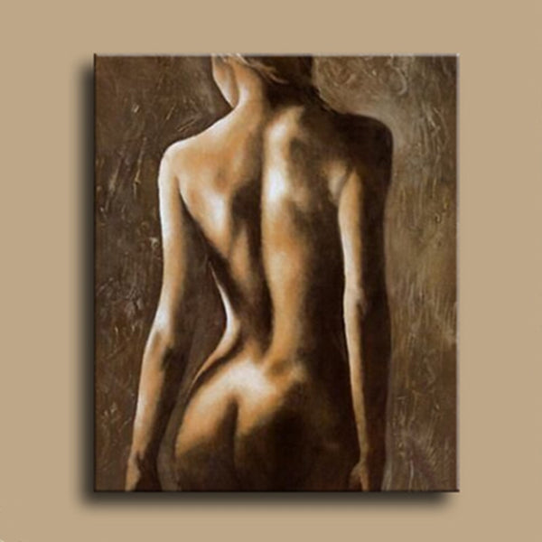 Handpainted sexy nude oil Painting 3d nude Oil Painting On Canvas For Living Room