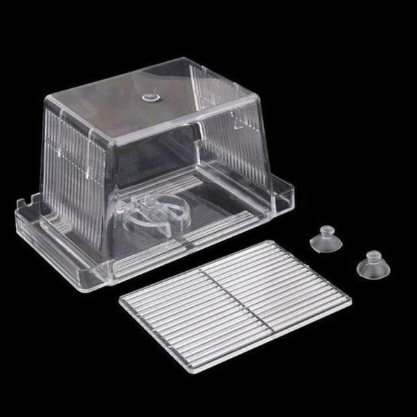 Big Size 4 Rooms And Mini Fish Tank Aquarium Incubator Breeding Hatching Box Acrylic Isolation At003