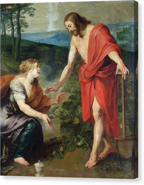 Peter Paul Rubens Christ Appears to Mary Magdalene - Stretched Canvas Print Ready to Hang
