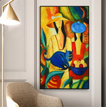 Picasso Famous Modern Pure Hand painting frame Canvas Painting available (destan boyax kirin)