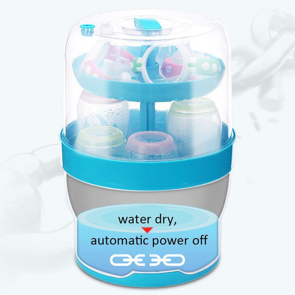 Baby Bottle Sterilizer Milk Warmer With Drying Function Steam Sterilization Dryer Heater For