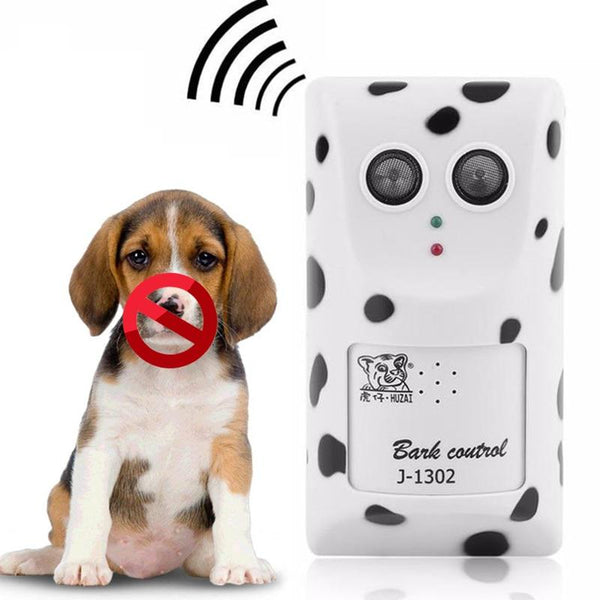 Dog Anti Bark Training Device Ultrasonic Repeller Trainer Equipment Anit Barking Clicker Pet