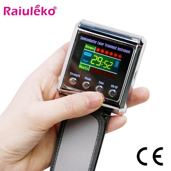 Household 650Nm Laser Physiotherapy Wrist Diode Lllt For Diabetes Hypertension Treatment Diabetic