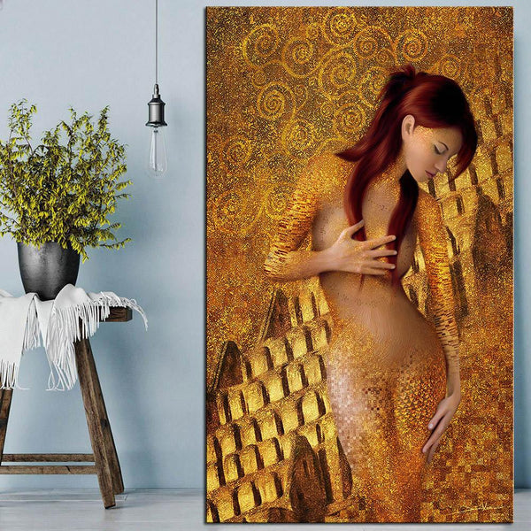 High Quality Giclee Print Huge Gustav Klimt Giclee Print Canvas Wall Art Decor Poster Oil Painting