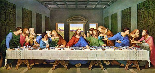 High Quality Giclee Print Leonardo Da Vinci Wall Paintings The Last Supper Huge Canvas Prints On