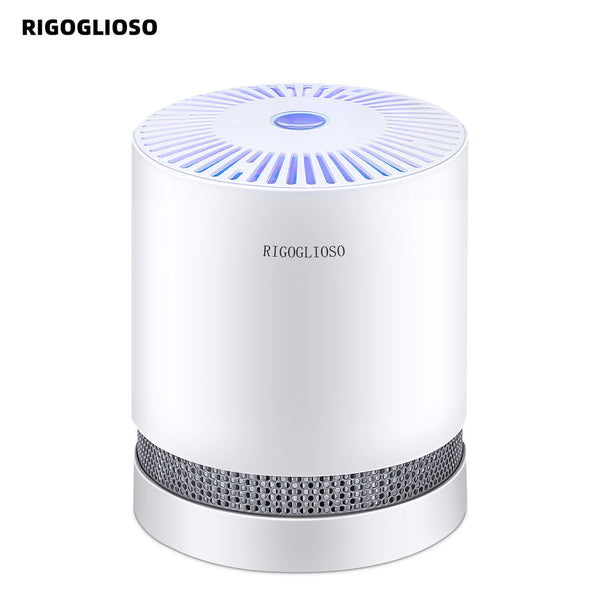 Air Purifier For Home True Hepa Filters Compact Desktop Purifiers Filtration With Night Light
