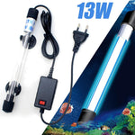 13W Aquarium Uvc Lamp Lights Sterilizer Uv Light Fish Tank Bactericide Disinfection Water