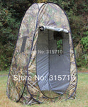 Portable Privacy Shower Toilet Camping Pop Up Tent Camouflage / UV Funktion Outdoor Dressing