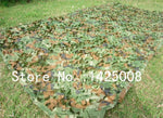 3 * 4M Fire farger Camouflage Net Camo Blinds Nettdeksel for Army Military Hunting Camping Photography