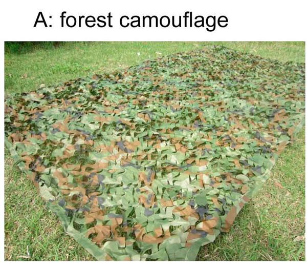 3*4M Four Colors Camouflage Net Camo Blinds Net Cover For Army Military Hunting Camping Photography