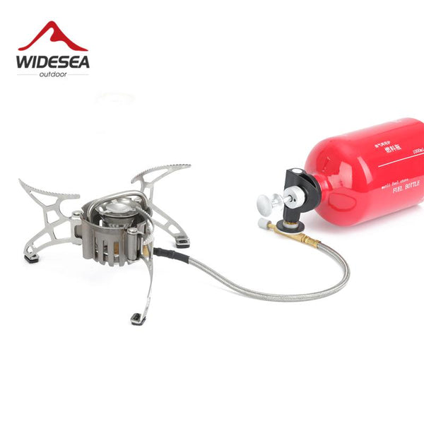 Widesea Portable Camp Shove Oil Gas Multi Fuel Stove Camping Burners Outdoor Picnic Cooking Burner