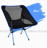 Utendørs Camping Fiske Folding Chair For Picnic Fiske Stoler Folded Garden Beach Traveling
