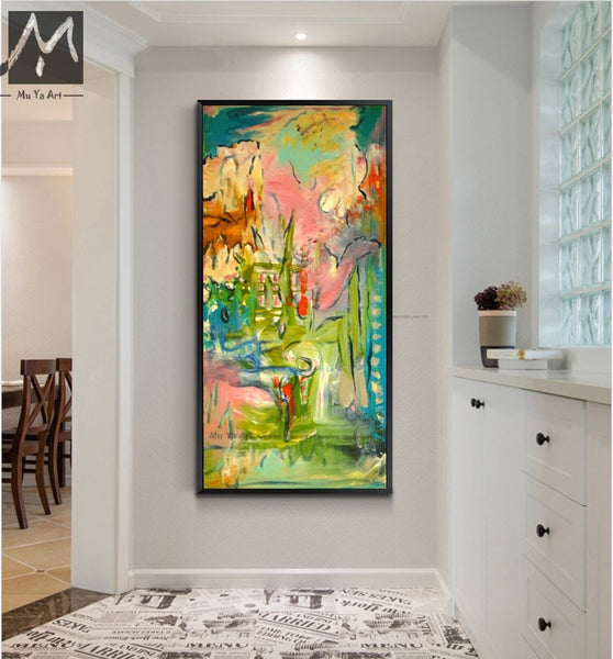 Abstract Modern Canvas Wall Art Hand Painted Oil Painting On