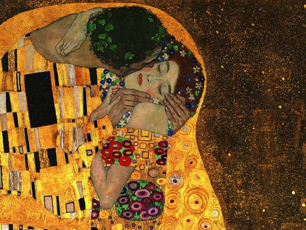 Gustav Klimt Hand Painted Oil Painting For Living Room Decoration (Hand Painted!) Products On Etsy