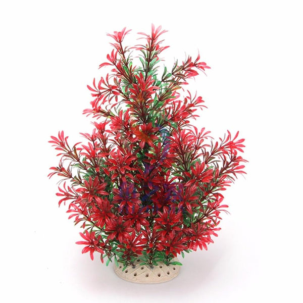 1Pcs Simulation Artificial Plants Aquarium Decor Water Weeds Ornament Plant