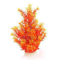 1Pcs Simulering Kunstige Planter Aquarium Decor Vann Ugress Ornament Plant Gul / 36 Cm