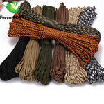 100M Paracord 550 Parachute Cord Lanyard иппопары Маманның түрі Iii 7 Strand Climbing Camping Survival