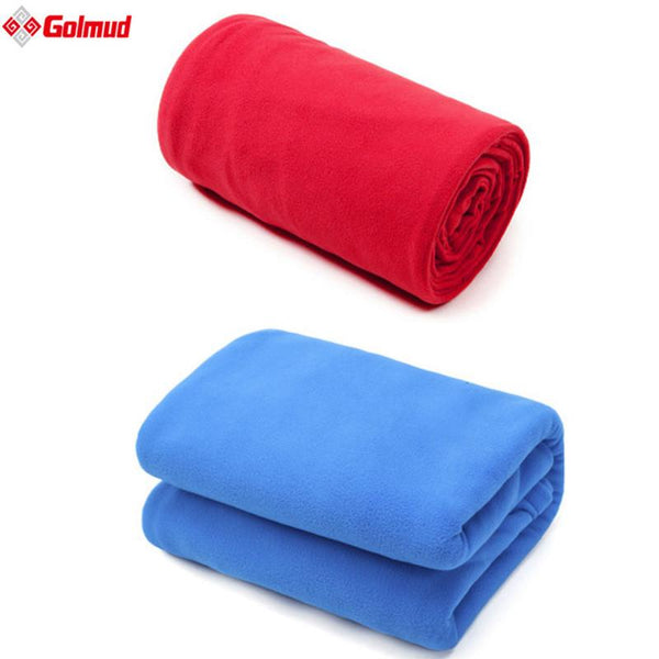 Ultra-Light 2 Thickness Polar Fleece Sleeping Bag Portable Outdoor Camping Travel Warm Liner