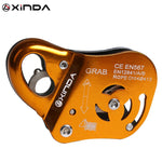 Xinda Brand Rock Climb Asending & Descending Safety Equipment Removable Rope Gripper Automatic Lock