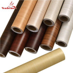 Wood Grain Home Decor Mobil Vinyl Wrap Waterproof Sticker Wall Adhesive PVC Wallpaper
