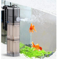 Super 4 En 1 Sunsun Interna Akvario Filtrila Pumpa Fiŝa Tanko Multifuncia Wave Maker Water