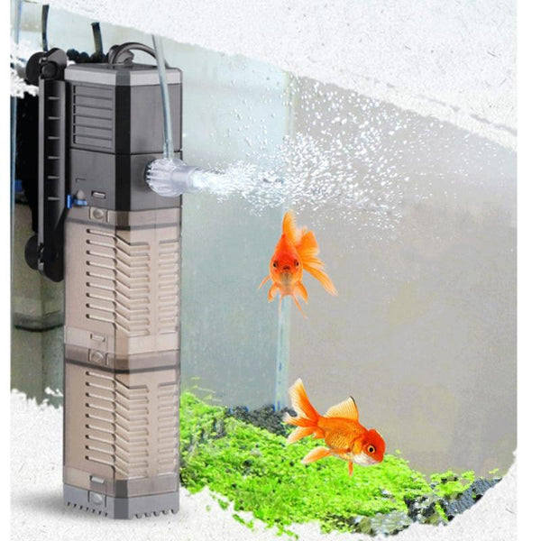 Super 4 In 1 Sunsun Internal Aquarium Filter Pump Fish Tank Multifunction Wave Maker Water