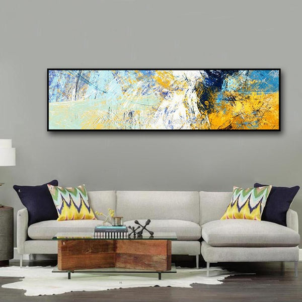 Canvas Oil Painting Color Code Picture Abstract Wall Art