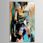 Abstract Graffiti Nude Oil Paintings On Canvas Large Ink Sexy Naked Women (Kamay Ipininta!)
