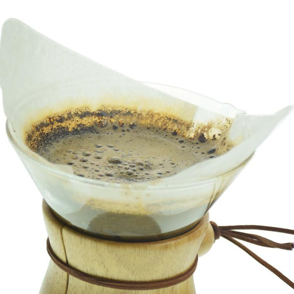 Classic Glass Pot Paper Filters 3Cups 6Cups Coffee Accessories 40Pcs Per Bag