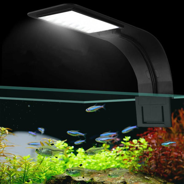 Super Slim Led Aquarium Lights Clip-On Plants Grow Light 5W/10W/15W Aquatic Freshwater Lamps