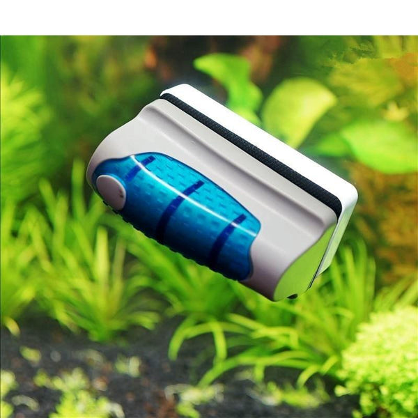 2017 New Magnetic Aquarium Fish Tank Glass Algae Scraper Cleaner Brush Tools Floating Alex Aquarium